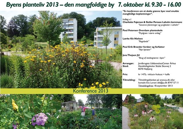 Byens Planteliv 2013 – Den mangfoldige by